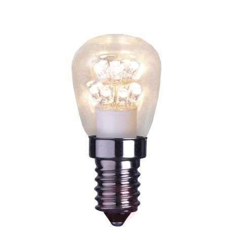E14 0,7W LED-päärynälamppu, kirkas, 2 100 K-1522097-31