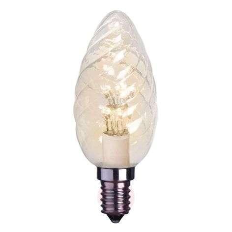 E14 0,9 W kirkas LED-kynttilälamppu, kierretty-1522106X-31