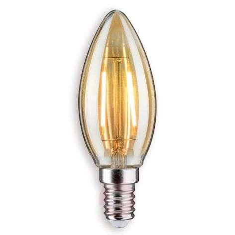 E14 2,5W 825 LED-kynttilälamppu kulta