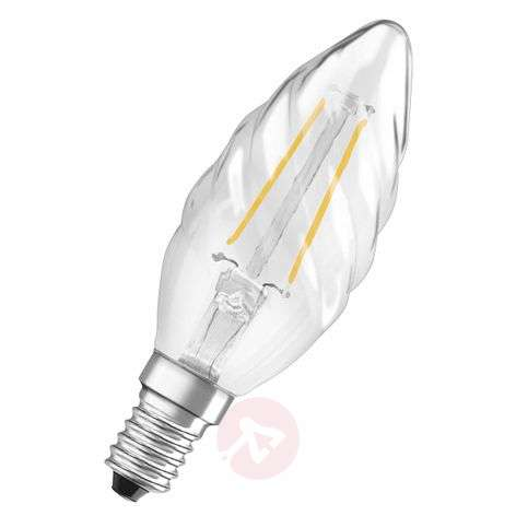 E14 2,5W 827 retromallinen LED-kynttilälamppu kier