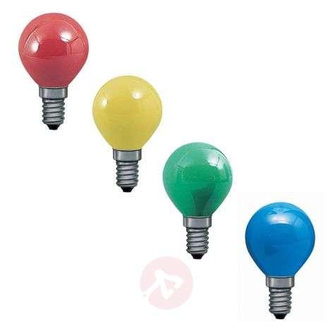 E14 25W pisaralamppu 4 eri väriä, valoketjuun