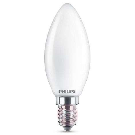 E14 4,3W 827 LED-kynttilälamppu, opaali