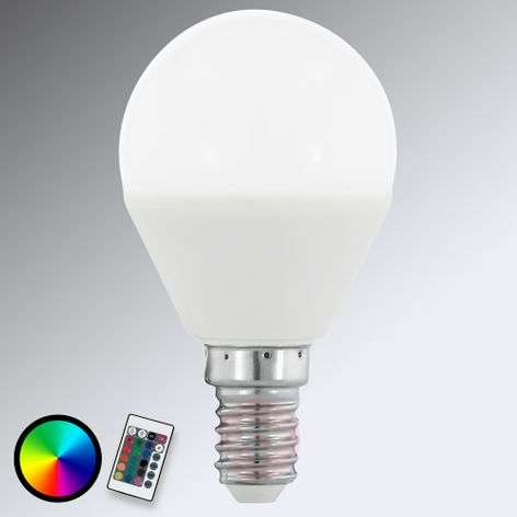 E14 4W 830 LED-pisaralamppu matta, RGB