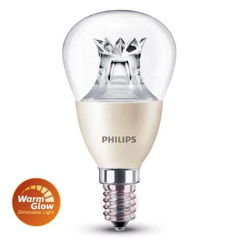 E14 6 W 827 LED-pisaralamppu, WarmGlow