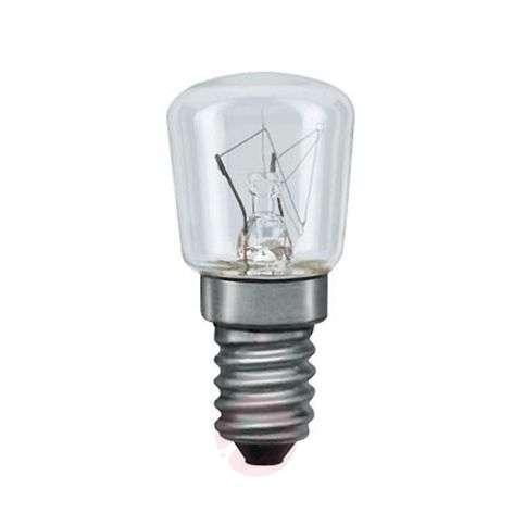 E14 7W päärynänmallinen lamppu, kirkas, yövalo
