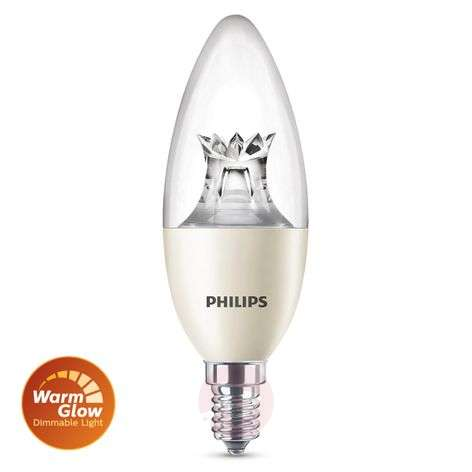 E14 8W 822-827 LED-kynttilälamppu WarmGlow