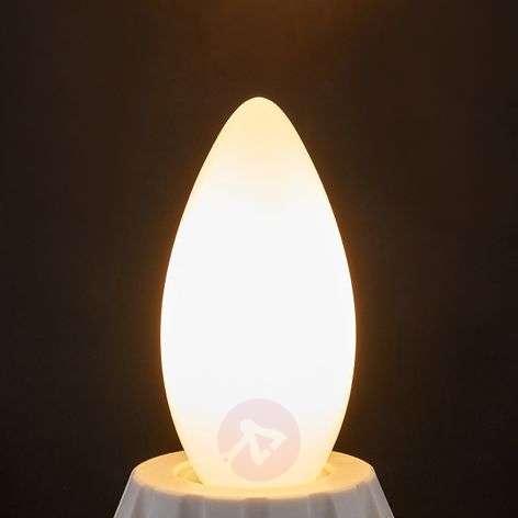 E14-LED-filamenttikynttilä 4W 400lm 2700 K opaali