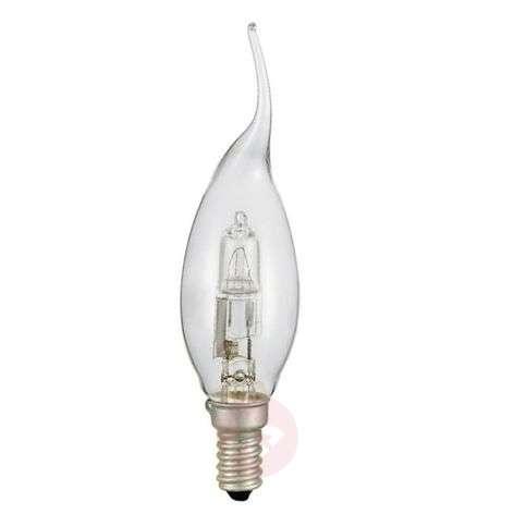 E14 liekkimäinen lamppu halogeeni, kirkas