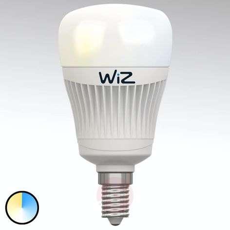 E14 WiZ LED-lamppu, ei kaukosäädintä., valkoinen