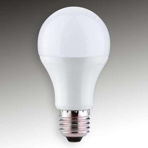 E27 10W 865 LED-hehkulamppu matta, himmennettävä