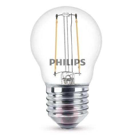 E27 2W 827 2W LED-lamppu