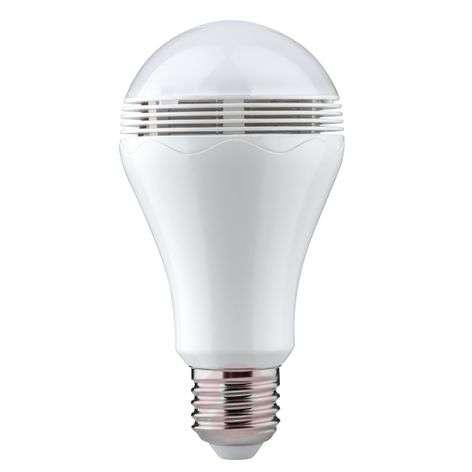 E27 5W 827 LED-lamppu Bluetooth ja kaiutin