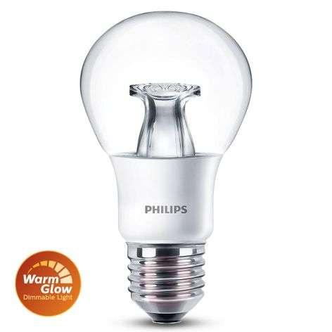 E27 6W 827 LED-lamppu, hehkulamppumalli, WarmGlow