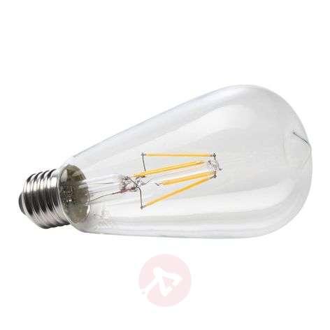 E27 6W 827 LED-hehkulanka maalaismainen valaisin