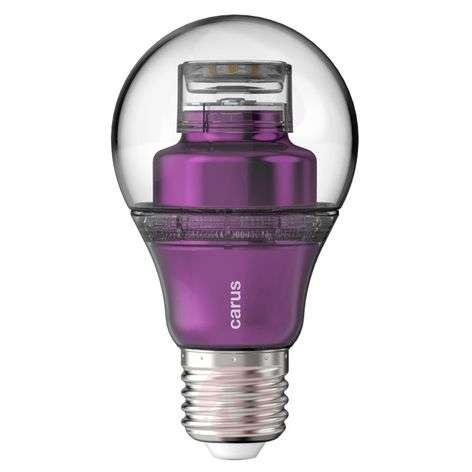 """E27 8,6 W 827 LED-lamppu, """"lookatme"""" violetti"""