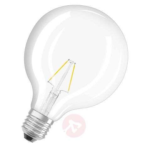 E27 827 LED-pallolamppu, retromalli