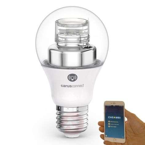 E27 8W LED-lamppu Carus Connect Smart White