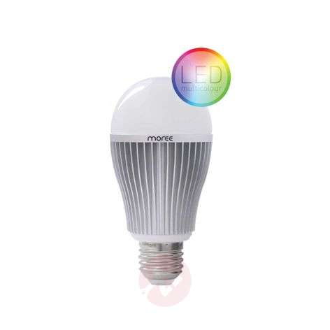 E27 9W RGBW LED-valonlähde, Wifi tai radio