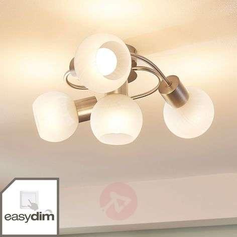 Easydim-LED-kattovalaisin Tanos, 4 valkoista lasia-9621571-32