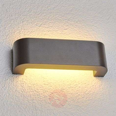 Eberta - LED-ulkoseinävalaisin grafiitinharmaa