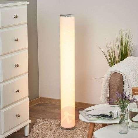 Ecris – kimalteleva LED-lattialamppu