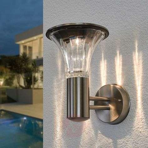 Eileen-LED-ulkoseinälamppu, aurinkokäyttöinen