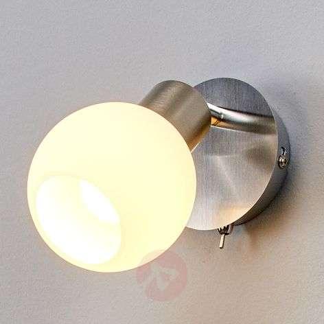 Elaina LED-seinäspotti, matta nikkeli-9620017-31