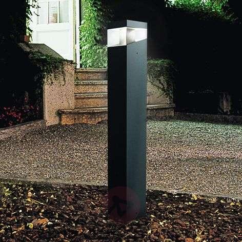 Elegantti design-LED-pylväsvalaisin Tetragono