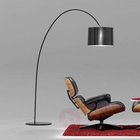 Elegantti kaarilamppu ROXX, musta