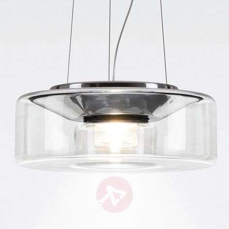 Elegantti LED-lasiriippuvalaisin Curling M