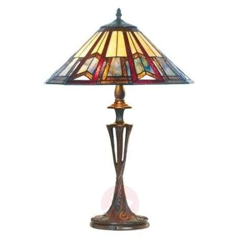 Elegantti Tiffany-tyylinen LILLIE-pöytävalaisin-1032185-31