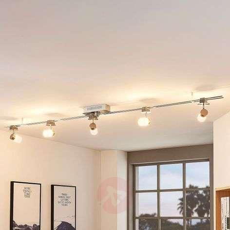 Elora - LED-kiskojärjestelmä, 5 varjostimella