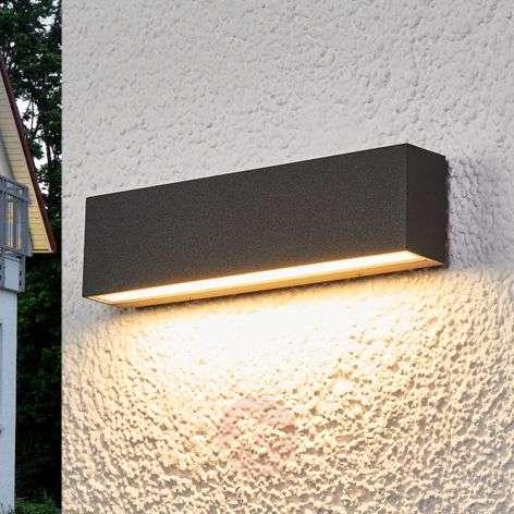 Elvira - grafiitinharmaa LED-ulkoseinälamppu IP65