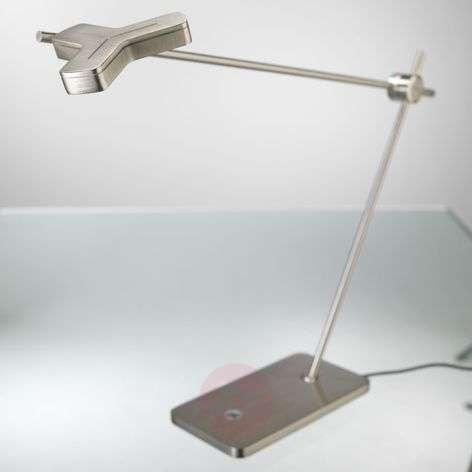 Ensiluokkainen Mox M3010-LED-pöytävalaisin nikkeli