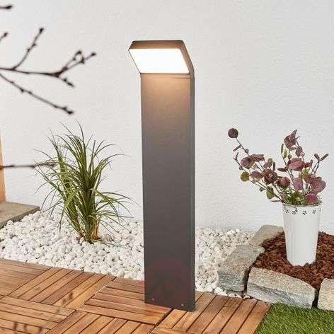 Evelin - LED-pylväsvalaisin tummanharmaana