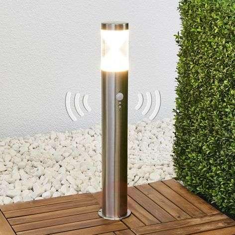 Fabrizio-LED-pollarilamppu liiketunnistimella