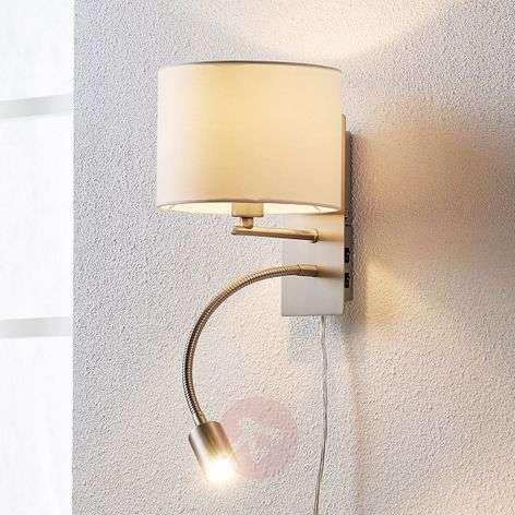 Florens – tekstiiliseinävalaisin ja LED-lukuvalo-9620921-33