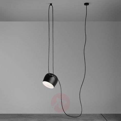 FLOS Design-LED-kattovalaisin Aim, musta