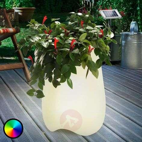 Flowerpott - LED-valaistu kukkaruukku