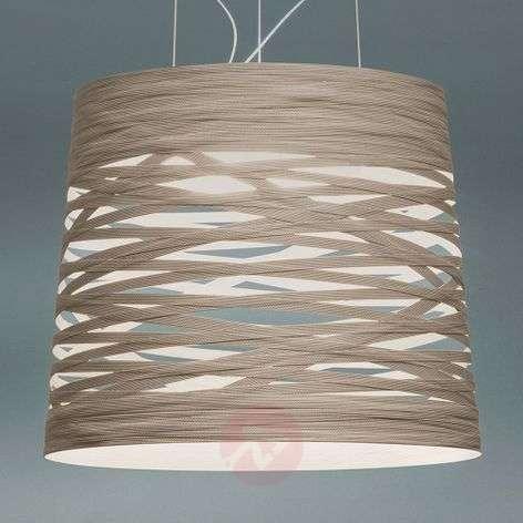 Foscarini Tress grande LED -riippuvalaisin, himmen