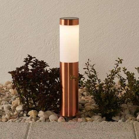 Freya – kaunis LED-maapiikkivalaisin, kupari