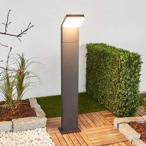 Grafiitinharmaa LED-pollarivalaisin Yolena, 100 cm