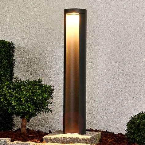 Grafiitinharmaa LED-pylväsvalaisin Jaron