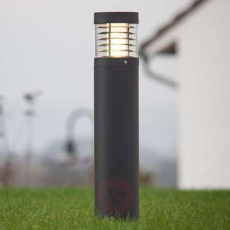 Grafiitinharmaa LED-valaisin Lucius 65cm korkea