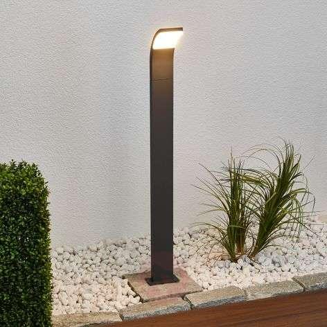 Grafiitinvärinen Timm-LED-pylväsvalaisin, 100 cm