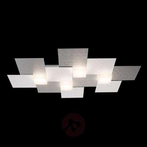 GROSSMANN Creo LED-kattovalaisin 4-lamp, 55x38,5cm