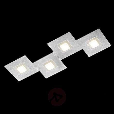 GROSSMANN Karree -LED-kattovalaisin 4-lamp. 80x30