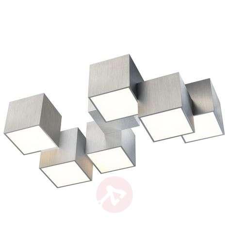 GROSSMANN Rocks LED-kattovalaisin 6-lamppuinen