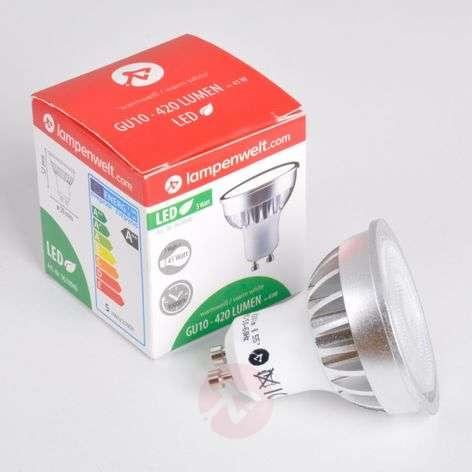 GU10 5 W 830 LED-heijastinlamppu 55°
