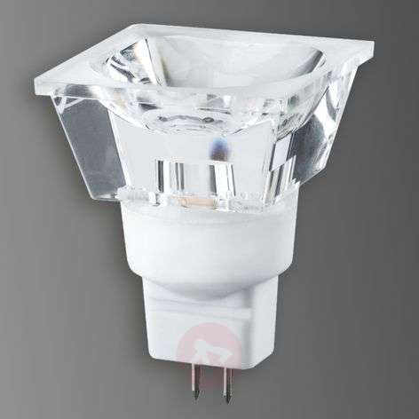 GU5,3 3W LED-heijastinlamppu Diamond, nelikulm.